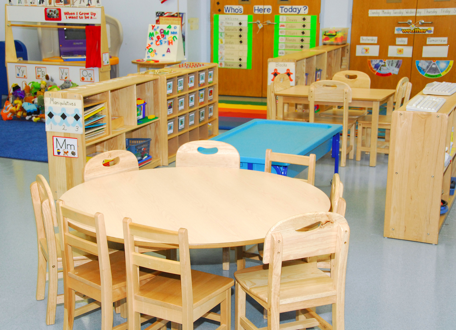 Pictures Of Classroom Furnitures ~ Classroom safety and cleanliness in preschool