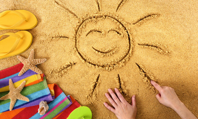 Beach Safety Tips and Summer Learning for Young Children