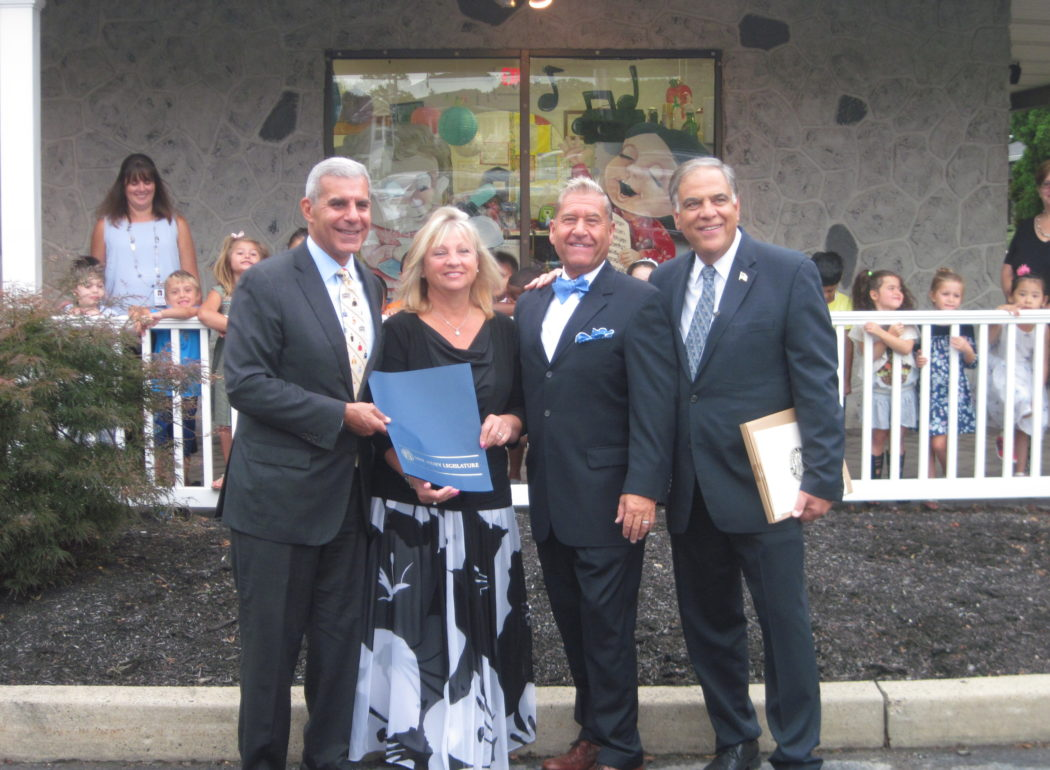 Top Pre-School in Monmouth County Receives State Senate Resolution